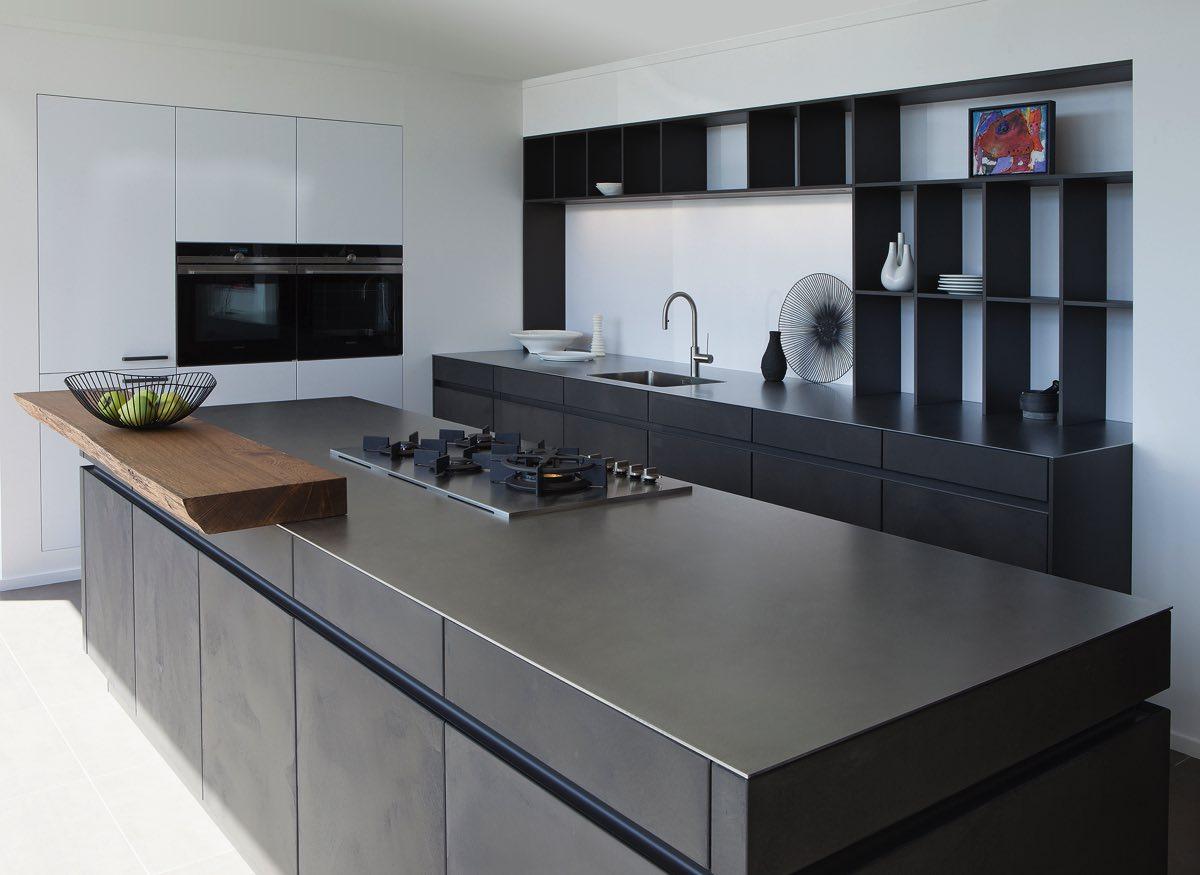 Keukenwerkblad inox Franke